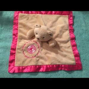 Boston Red Sox security blanket bear lovey mlb
